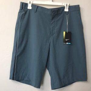 Nike golf dri fit shorts. Blue. NWT. Size 35.